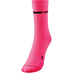 cep Neon Mid-Cut Socks Women, rosa rosa