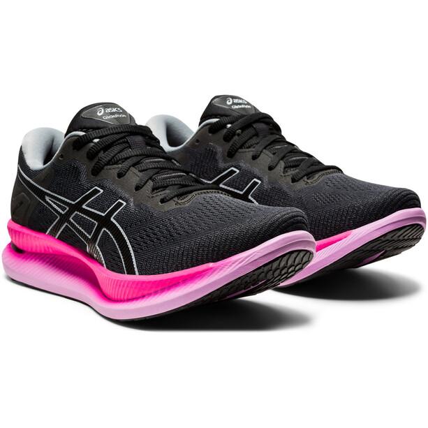 asics GlideRide Schuhe Damen graphite grey/black