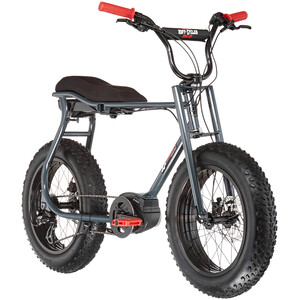 Ruff Cycles Lil'Buddy Bosch Active Line 500Wh, gris gris