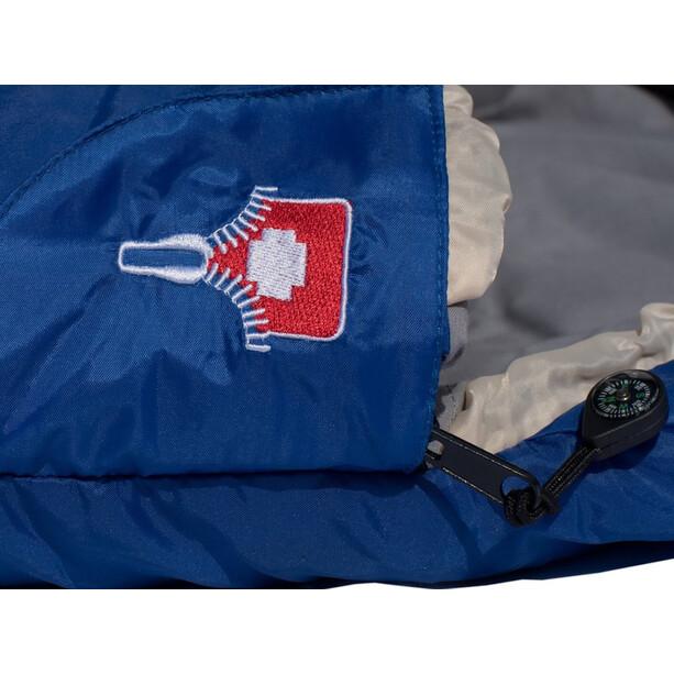Grüezi-Bag Cloud Deluxe Decken-Schlafsack blue
