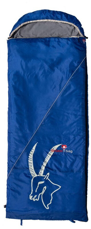 Grüezi-Bag Cloud Deluxe Decken-Schlafsack blue Deckenschlafsäcke 8451