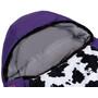 Grüezi-Bag Cow Grow Sleeping Bag Kids, purple