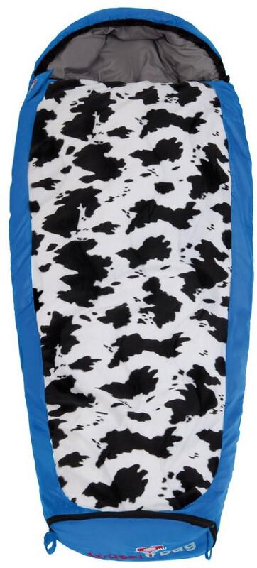 Grüezi-Bag Cow Grow Schlafsack Kinder blue Kunstfaserschlafsäcke Left Zipper 6022