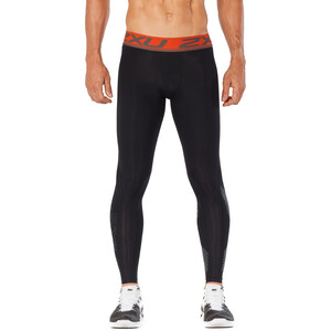 2XU Accelerate Kompresjonstights Herre black/orange black/orange