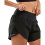 "2XU Xvent 4"" Shorts with Brief Women black/silver reflective"
