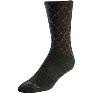 PEARL iZUMi Merino Wool Tall Socken grau grau