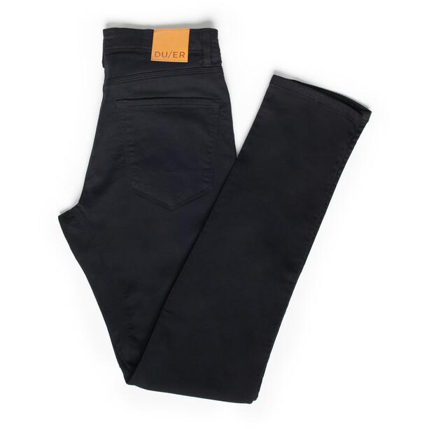 DUER No Sweat Pants Slim Men, black