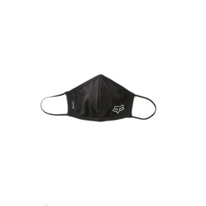 Fox Face Mask Men, black black