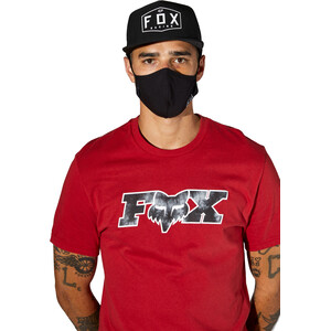 Fox Face Mask Men, black tie dye black tie dye