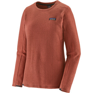 Patagonia R1 Air Crew Sweater Women spanish red spanish red