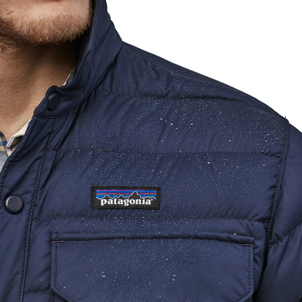 Patagonia Silent Down Shirt Jacket Men classic navy