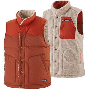 Patagonia Reversible Bivy Down Vest Men barn red barn red