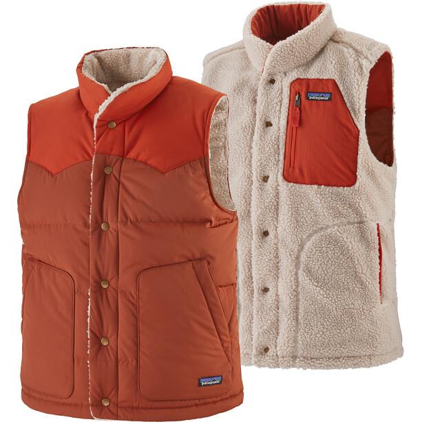 Patagonia Reversible Bivy Down Vest Men barn red