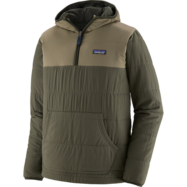 Patagonia Pack In Pullover Hoody Men basin green