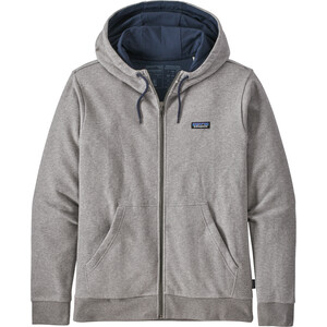 Patagonia P-6 Label French Terry Full-Zip Hoody Men feather grey feather grey