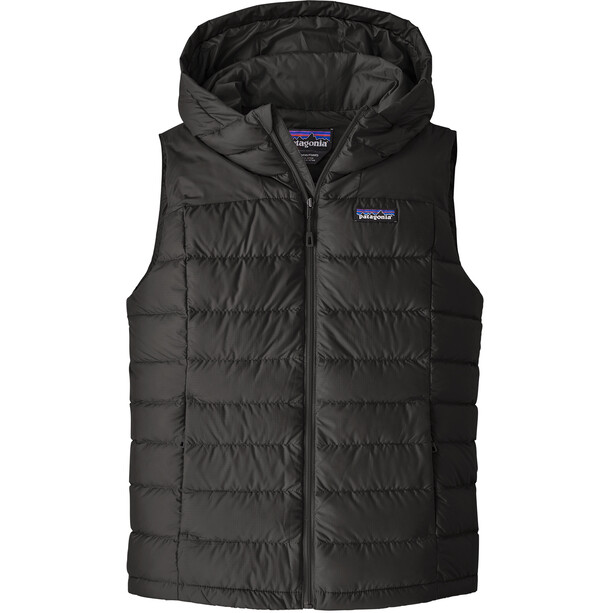 Patagonia Hi-Loft Down Hooded Vest Women black