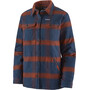 Patagonia Fjord Insulated Flannel Jacket Women burlwood/new navy