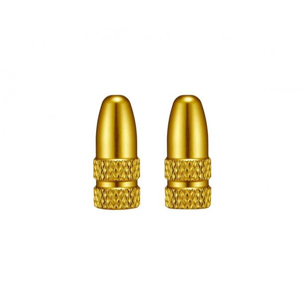Supacaz Valve Capz für Presta Ventile gold