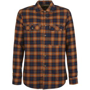 E9 Peppino Shirt Men, oranje/blauw oranje/blauw