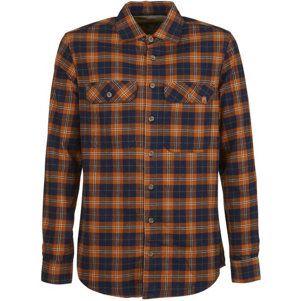 E9 Peppino Shirt Herren orange/blau