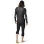 Smartwool Intraknit Merino 200 1/4 Zip LS Shirt Men black/white