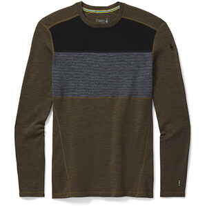 Smartwool Merino 250 Crew LS Baselayer Boxed Men military olive heather military olive heather