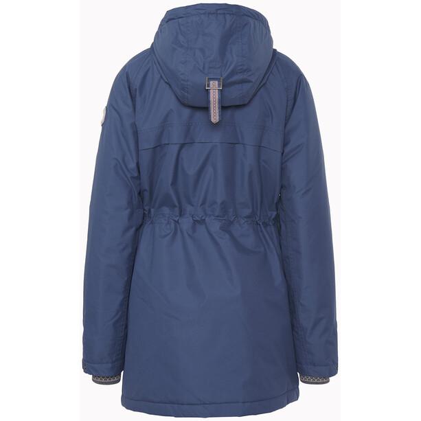 Varg Åre Eco Parka Jacket Women bering sea blue