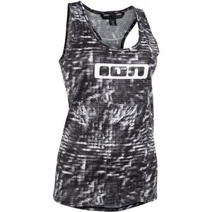 ION Base Tank Top Damen schwarz/weiß schwarz/weiß