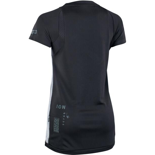 ION Scrub AMP Kurzarm Shirt Damen grau/schwarz