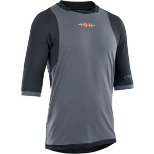 ION Scrub AMP 3/4 LS Shirt Herren grau/schwarz grau/schwarz