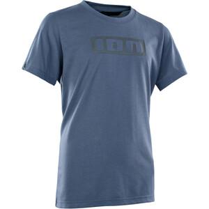 ION Seek DriRelease Kurzarm Shirt Jugend blau blau