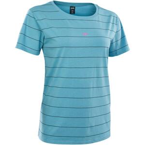 ION Stripes Kurzarm Shirt Damen blau blau