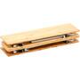 CAMPZ Bambustisch 60x60x40cm braun
