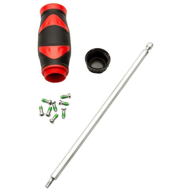 Quarq Torx Key Tool für Spider/T20 mit T-Handgriff 4Nm Preset black/silver