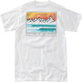 Hippy Tree Wavecrest Eco T-Shirt Herren white