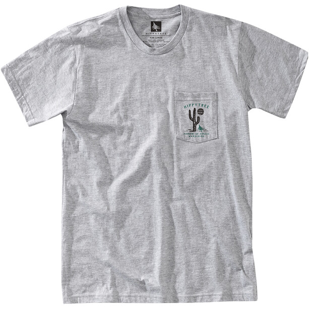 Hippy Tree Prospector Tee Herren heather grey
