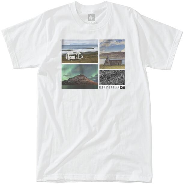 Hippy Tree Overland Eco T-Shirt Herren white