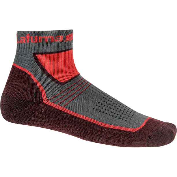 Lafuma Fastlite Merino Low Socken vibrant red