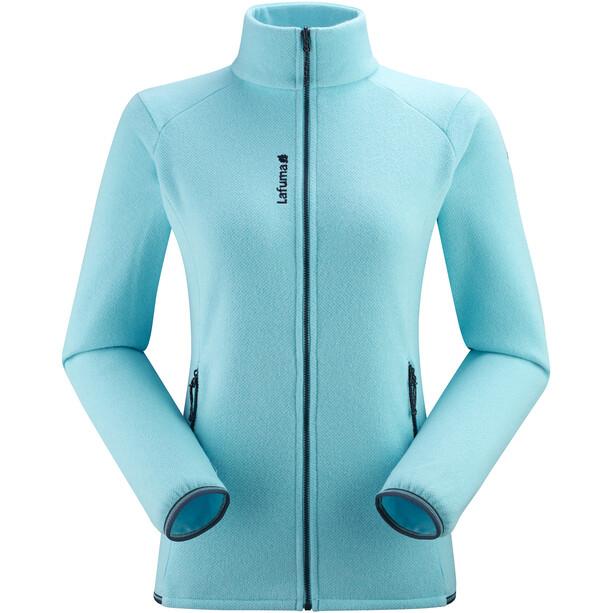 Lafuma Techfleece Full-Zip Jacke Damen maldives blue