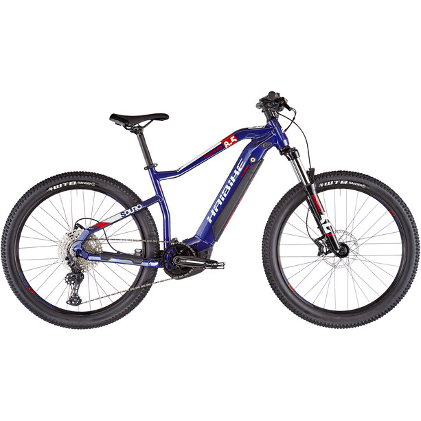 HAIBIKE HardSeven 8.5 darkblue/coolgrey/red