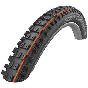 "SCHWALBE Eddy Current Rear Super Trail Evolution Folding Tyre 27.5x2.80"" TLE E-50 Addix Soft svart svart"