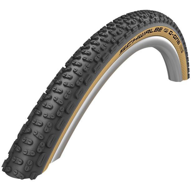 "SCHWALBE G-One Ultrabite Performance Folding Tyre 28x2.00"" RaceGuard TLE E-25 Addix, noir"