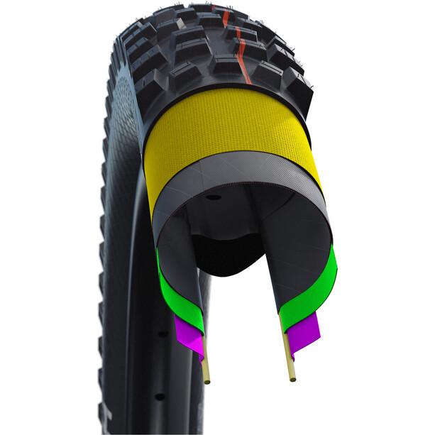 "SCHWALBE Magic Mary Super Trail Evolution Folding Tyre 29x2.25"" TLE E-25 Addix Soft, black"