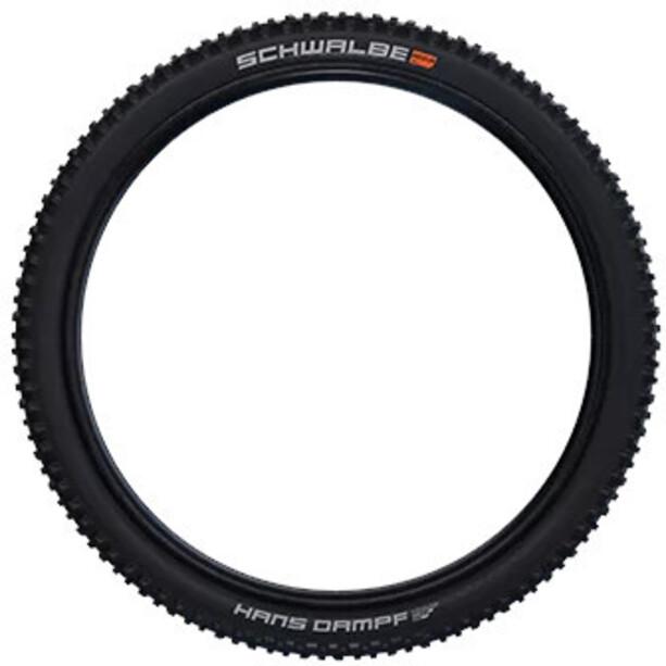 "SCHWALBE Hans Dampf Super Gravity Evolution Folding Tyre 27.5x2.35"" TLE E-25 Addix Soft, noir"