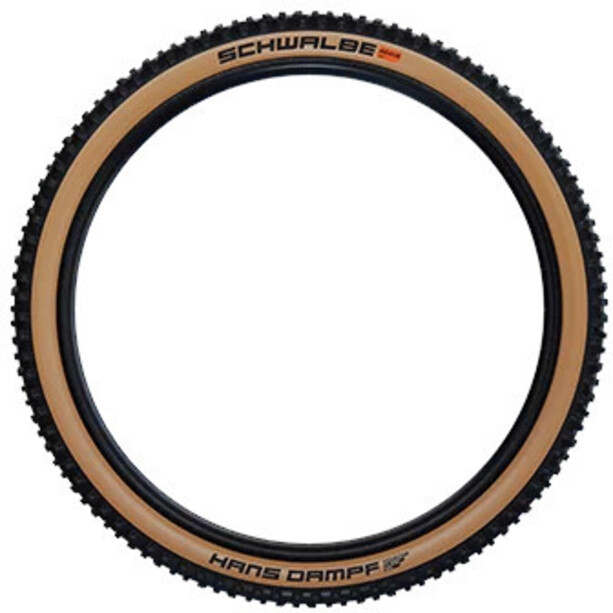 "SCHWALBE Hans Dampf Super Trail Evolution Faltreifen 27.5x2.35"" TLE E-25 Addix Soft black/classic"