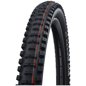 "SCHWALBE Big Betty Super Trail Evolution Faltreifen 26x2.40"" TLE E-50 Addix Soft black black"