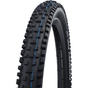 "SCHWALBE Nobby Nic Super Ground Evo Folding Tyre 27.5x2.25"" TLE E-50 Addix Speedgrip SnakeSkin svart svart"