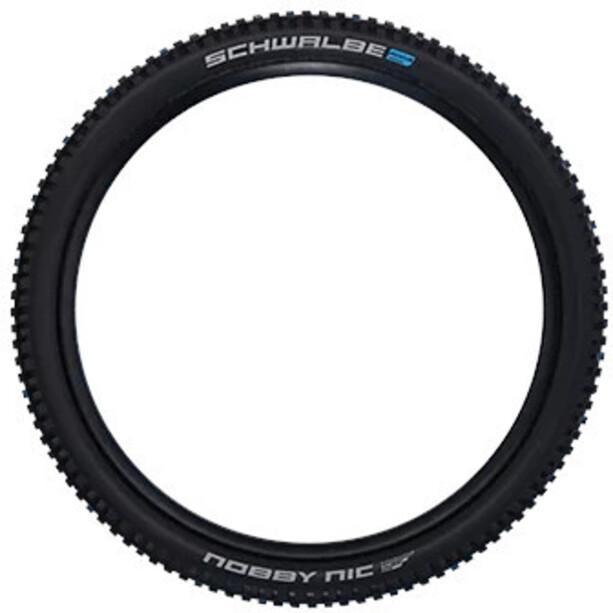 "SCHWALBE Nobby Nic Super Ground Evo Folding Tyre 27.5x2.35"" TLE E-50 Addix Speedgrip SnakeSkin svart"