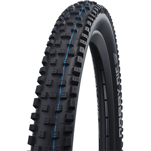"SCHWALBE Nobby Nic Super Ground Evo Folding Tyre 27.5x2.35"" TLE E-50 Addix Speedgrip SnakeSkin svart svart"