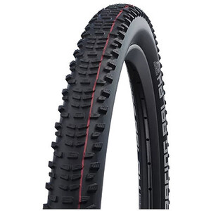 "SCHWALBE Racing Ralph Super Ground Evo Folding Tyre 29x2.10"" TLE E-25 Addix Speed SnakeSkin, noir noir"